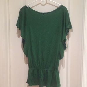 Green old navy blouse